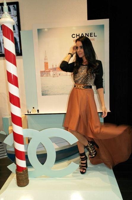 Chantal torres desde el evento de chanel m xico lfnews for Disenos de faldas