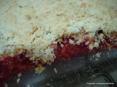 Finding Joy in My Kitchen: Strawberry Rhubarb Dump Cake