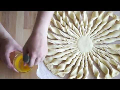 The Cook Time: Tarte Soleil Vache qui rit, jambon, gruyère et moutarde + vidéo