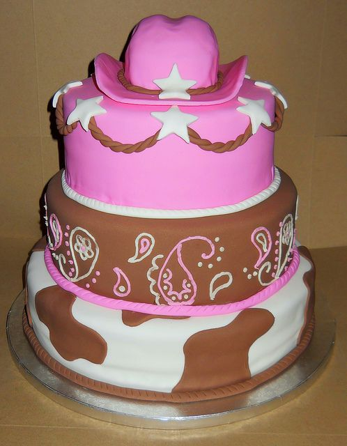 Birthday Cake Images For Aunt : Cowgirl Cake by sunstarr02, via Flickr Blakely s ...