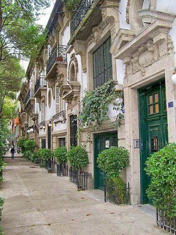 Colonia Condesa en la Ciudad de Mexico - #Mexico marialuisa gallardo Condesa zone in Mexico City Tour By Mexico - Google+