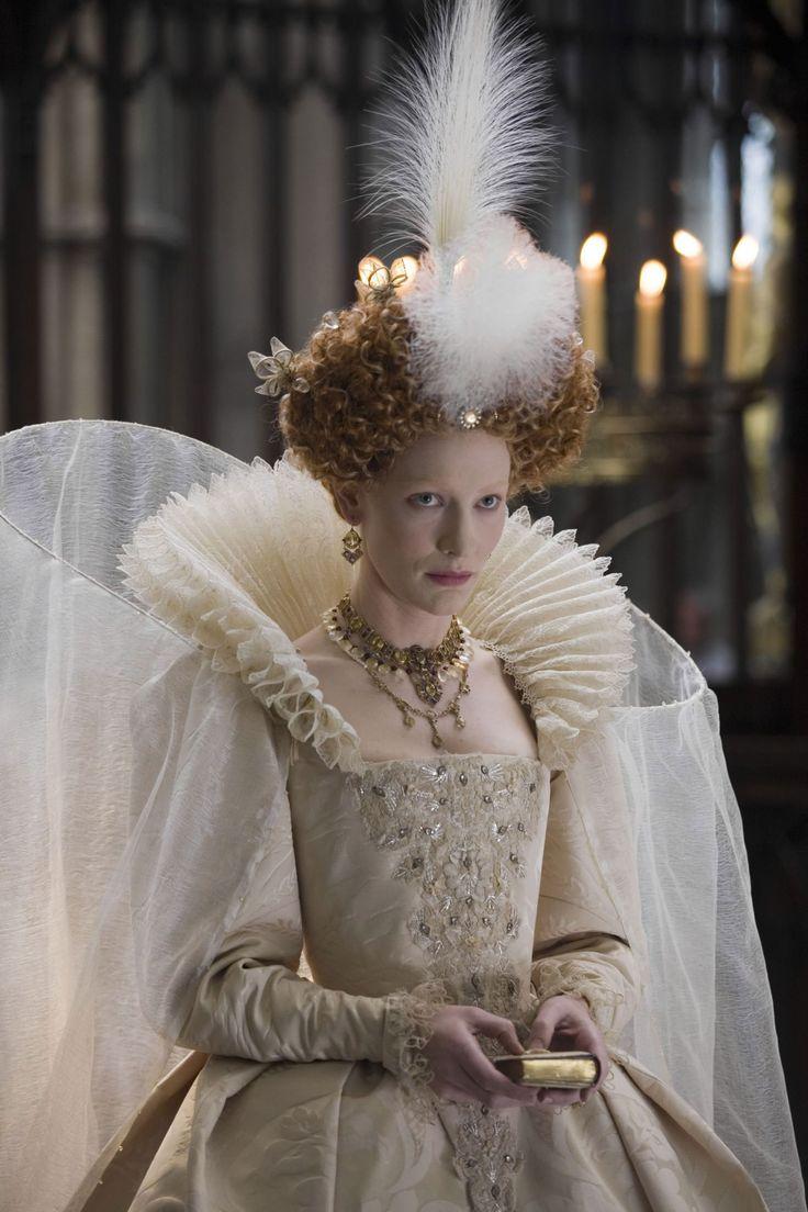 Cate Blanchette as Queen Elizabeth I in the film Elizabeth: The Golden Age.
