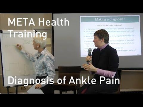 META Health Training Diagnosis of Ankle Pain