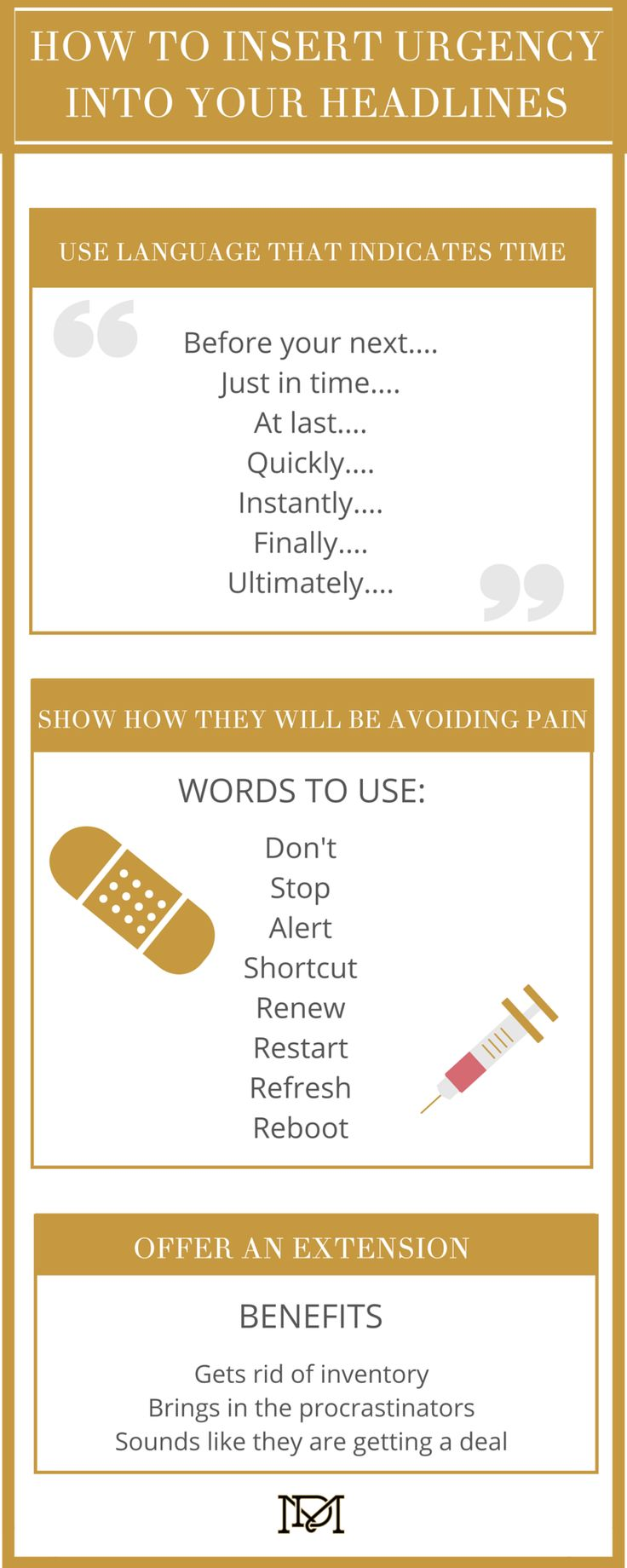 Helpful tips on how to write great copy for your business.