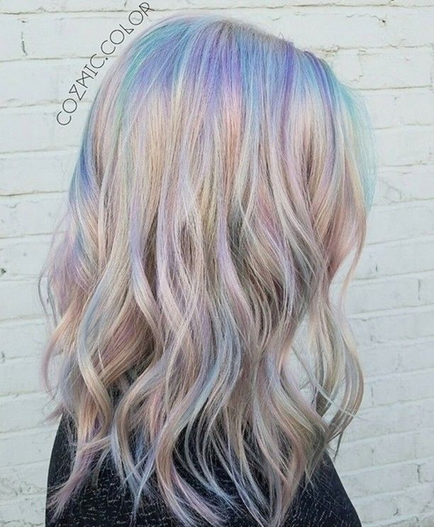 Holographic Hair is The Latest Hair Trend
