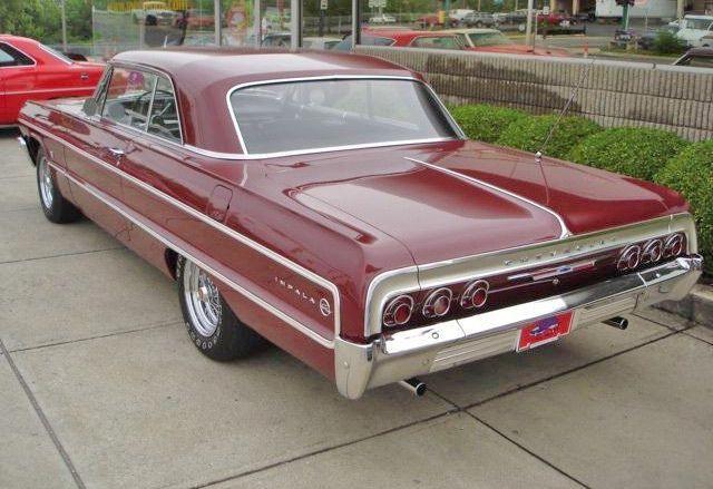Maroon 1964 Chevy Impala Our Family Car Chevroletclassiccars Chevy Impala Impala 64 Impala