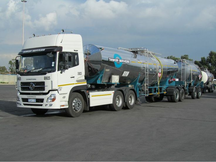 Tanker Services South Africa Heavy Motor Vehicles