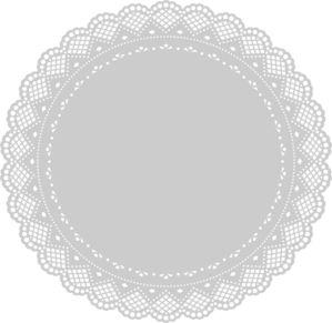Doily clip art - vector clip art online, royalty free & public domain