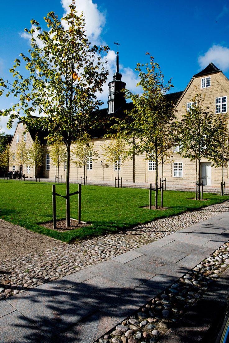 Christiansfeld Kirkeplads - Landskabsarkitekt - Schønherr