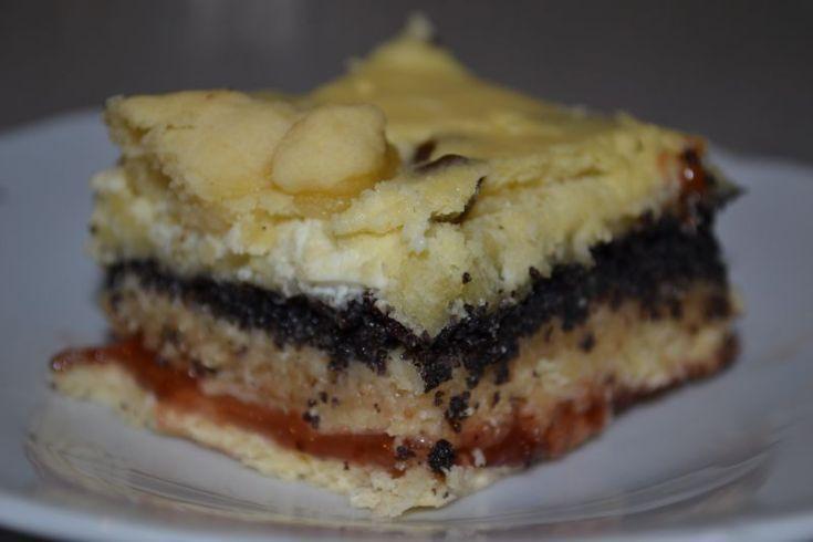 Fotorecept: Štedrák - kysnutý koláč so 4 plnkami