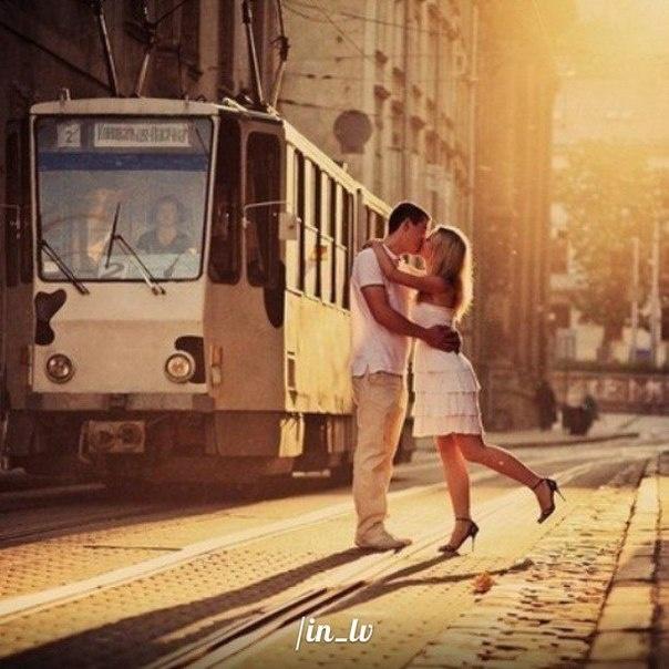 Romance in Lviv - Ukraine.