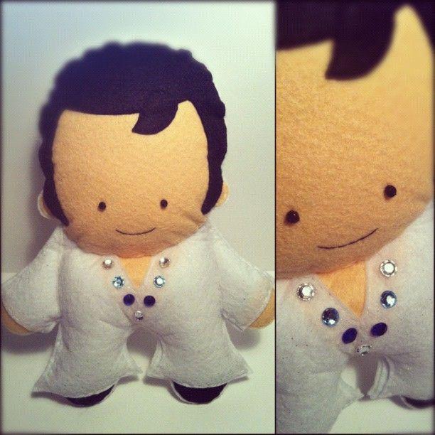 Felt Elvis!