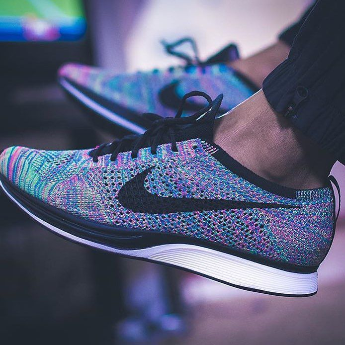 Double tap if you want Nike to restock on these Flyknit Racer 'Rainbow' 2.0s! Don't forget to tag @flyknitfeed or #FlyknitFeed for a possible feature! Pic via @justdoitdb by flyknitfeed