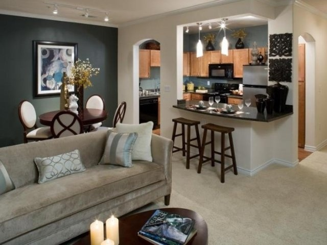 1000 ideas about kitchen dining combo on pinterest for Living room next to kitchen