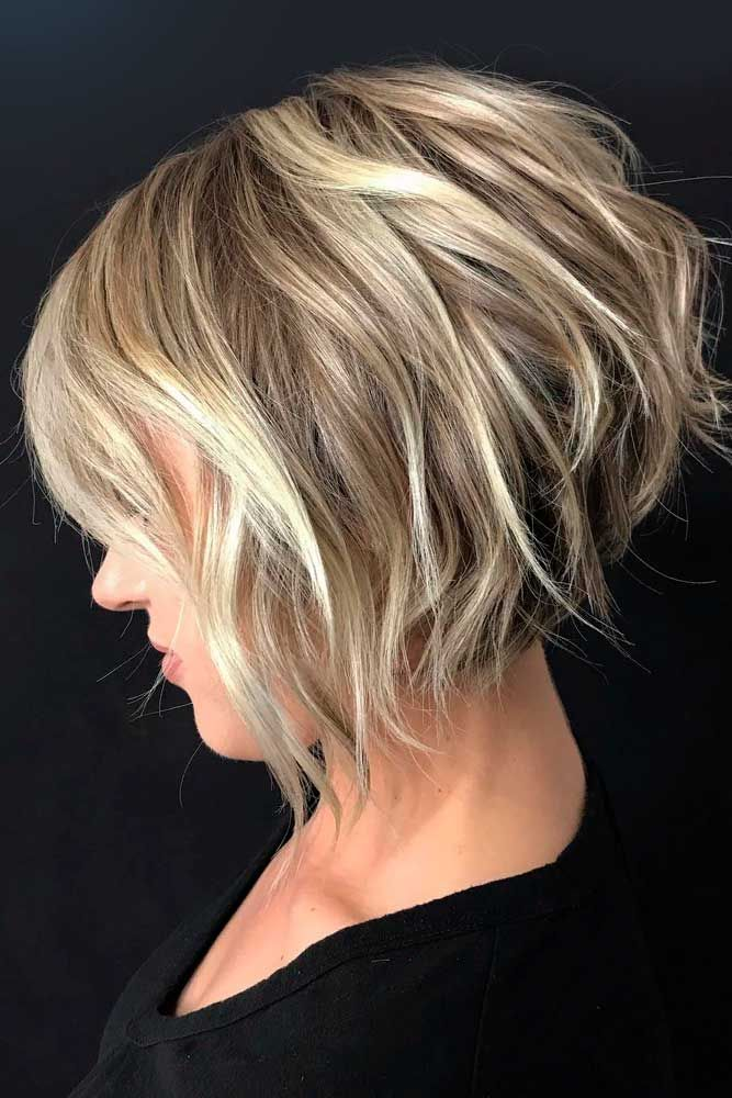 77 Ideas Of Inverted Bob Hairstyles To Refresh Your Style Hair Styles Thick Hair Styles Short Bob Haircuts
