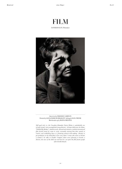 Acne Paper | #Editorial #Layout