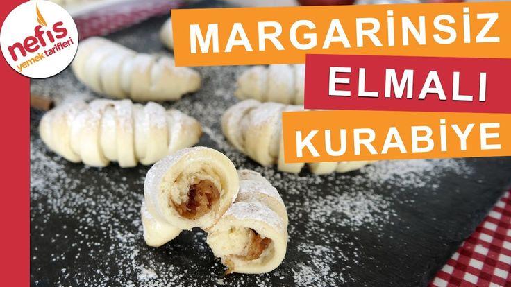 Margarinsiz Yumuşacık Elmalı Kurabiye Tarifi - Kurabiye Tarifleri - Nefi...