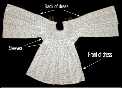 How to make a bishop dress