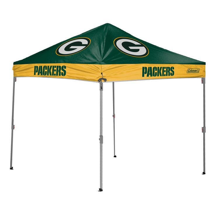 Green Bay Packers Straight Leg Canopy At The Pro Shop