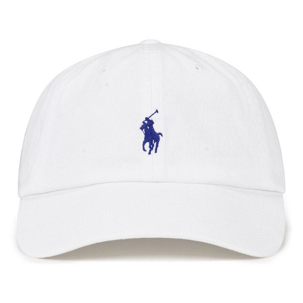 Polo Ralph Lauren Men's Classic Sports Cap - White (2.380 RUB) ❤ liked on Polyvore featuring men's fashion, men's accessories, men's hats, mens sport hats, mens sports hats and mens caps and hats