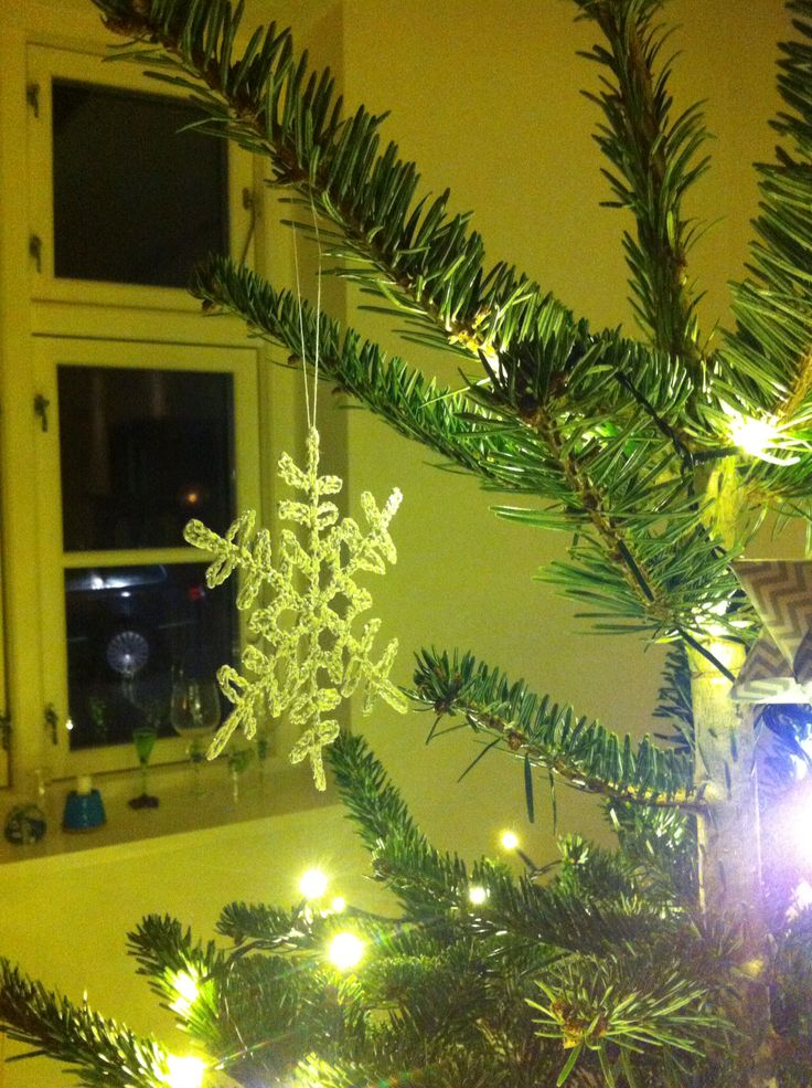 Crochet christmas stars in action