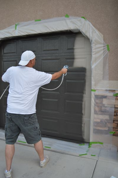 How to Paint a Garage Door