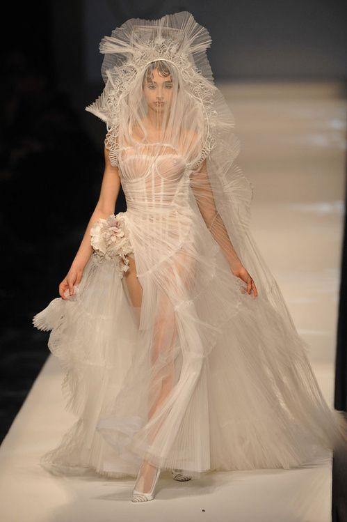 Le défilé Jean Paul Gaultier haute couture printemps-été 2009