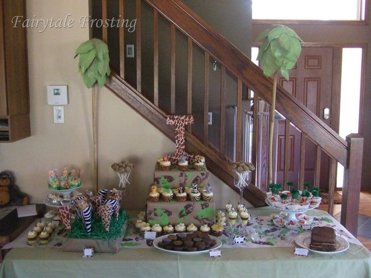 baby shower theme jungle safari