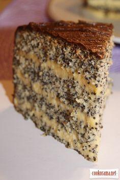 "Poppy seed cake ""Kievlyanochka"" / Ukrainian kitchen / Kukorama - delicious recipes!"