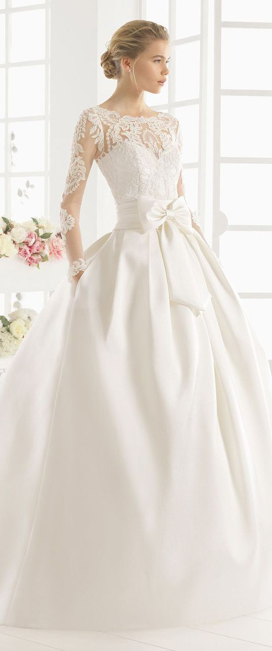 Modest Wedding Dresses Magazine : Best novias images on wedding dressses