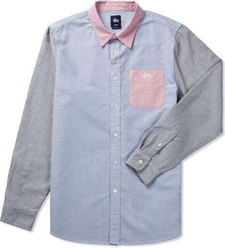 paneling + pocket + collar
