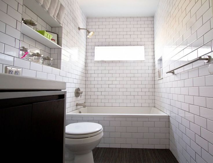 Bathroom Subway Tiles  -  Subway tiles are classic tile shapes that never goes out of style. Subway tiles are a timeless staple of bathroom design. True to their name, subway t... Check more at http://www.xtend-studio.com/16458-bathroom-subway-tiles/