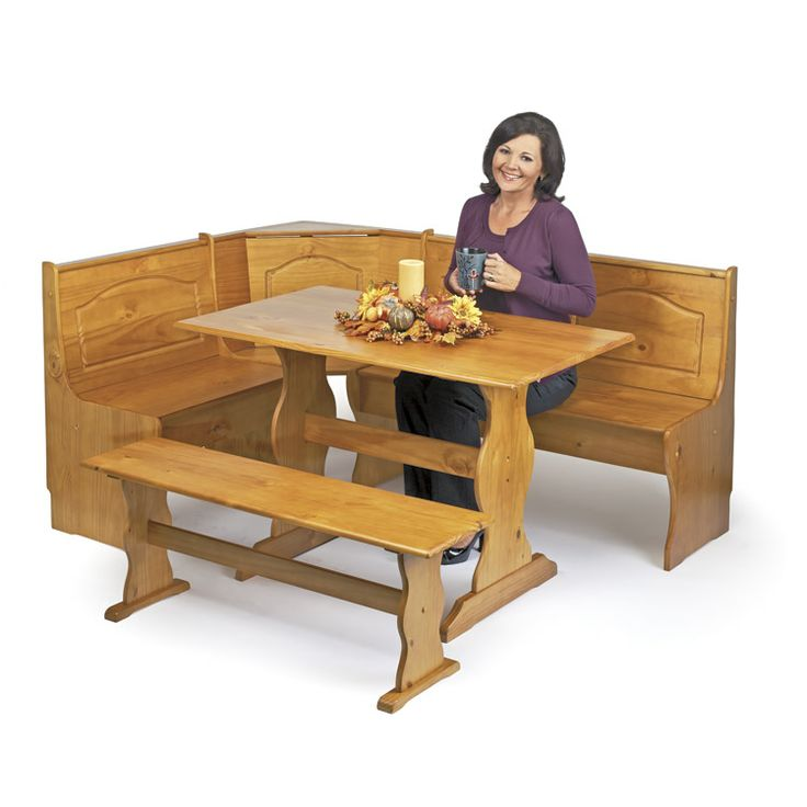 Enjoy Your Most Important Meal Of The Day In Style And Comfort With This Fabulous Breakfast Nook