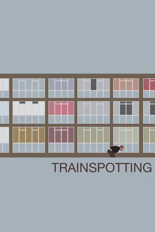 Trainspotting Movie Poster. via Etsy.