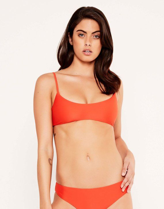 Scoop Bikini Top Chilli NZD$19.99 now NZD$10.00