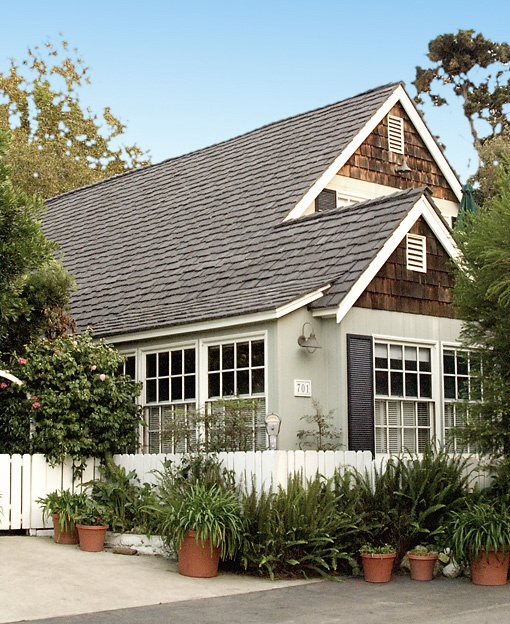 Siding with wood shingle eves house colors pinterest for Cedar shingle shed