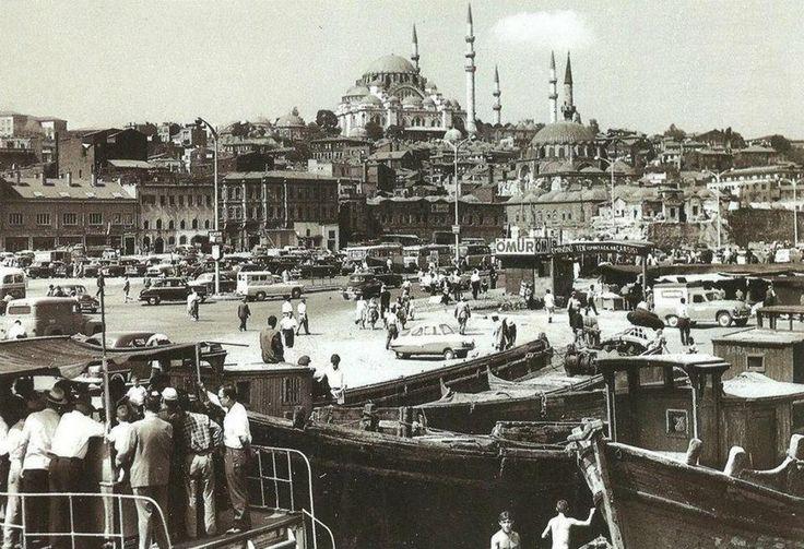 Bir zamanlar Istanbul, Eminönü - 1955