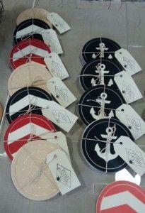 custom designed coasters