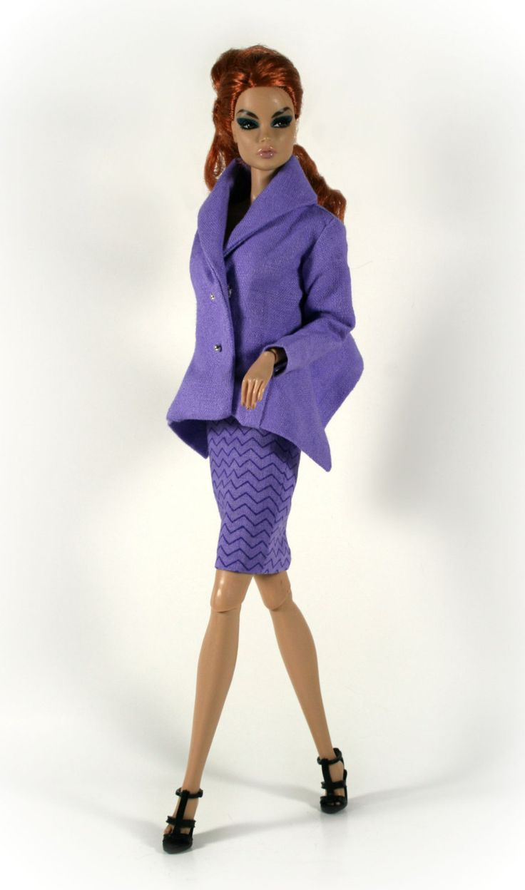 Trendy suit for Fashion Royalty Dolls by ChicBarbieDesigns on Etsy