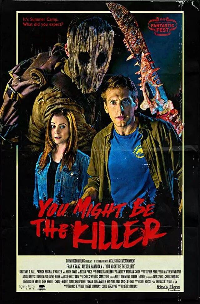 Resultado de imagem para You Might Be the Killer poster