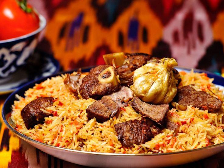 Riz Pilaf Ouzbek • Beef Plov (Beef Rice Pilaf)   TROPICS Magazine