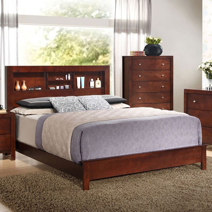The G2400 Bookcase Bed by Glory Furniture