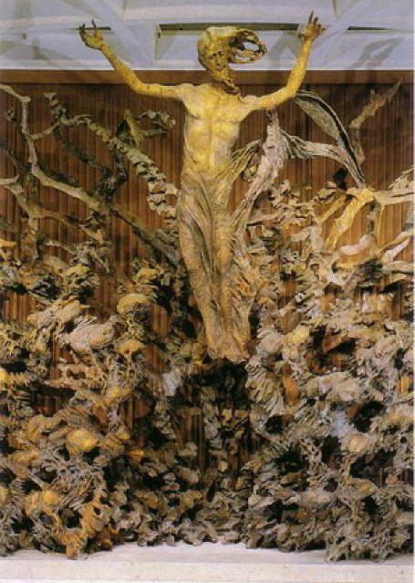 Pericle Fazzini -  Resurrezione (Vaticano, 1975).jpg