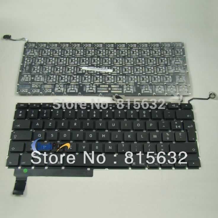"For MacBook Unibody 15"" A1286 MB470 MB471 2008 Clavier French fr Keyboard AZERTY"