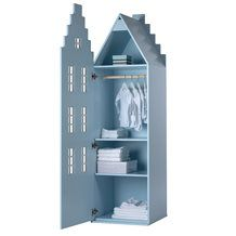 AMSTERDAM STAIR GABLE WARDROBE in Pastel Colours