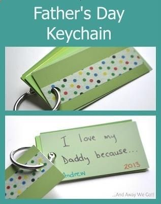 Father's Day Keychain - Father's Day Craft