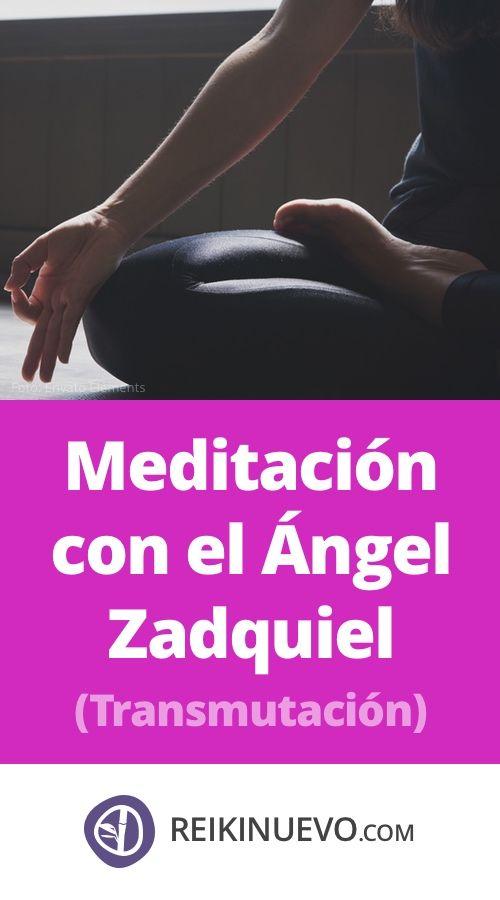 #Meditación con el #Ángel #Zadquiel (#Transmutación) + info: https://www.reikinuevo.com/meditacion-angel-zadquiel/