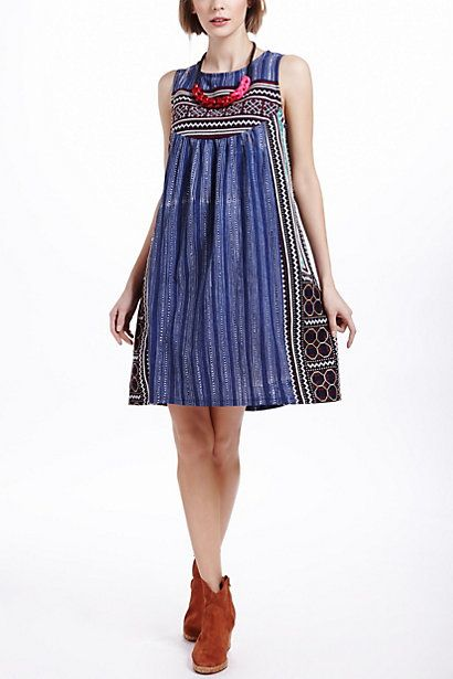Inoke Batik Dress - Anthropologie.com....love this.  Fun fun.