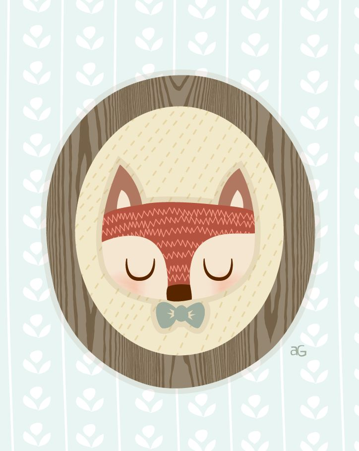 Mr. Fox - By Isabell's Umbrella.  www.isabells-umbrella.blogspot.com