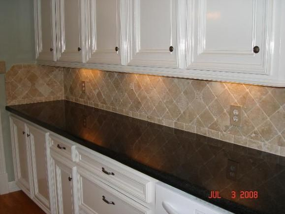 best 25+ travertine tile backsplash ideas on pinterest
